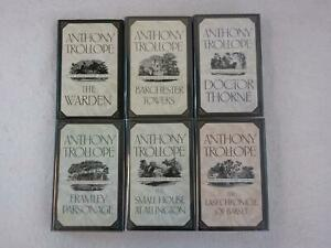 Lot-of-Anthony-Trollope-THE-BARSETSHIRE-NOVELS-Complete-6-Vol-Set-Oxford-1989