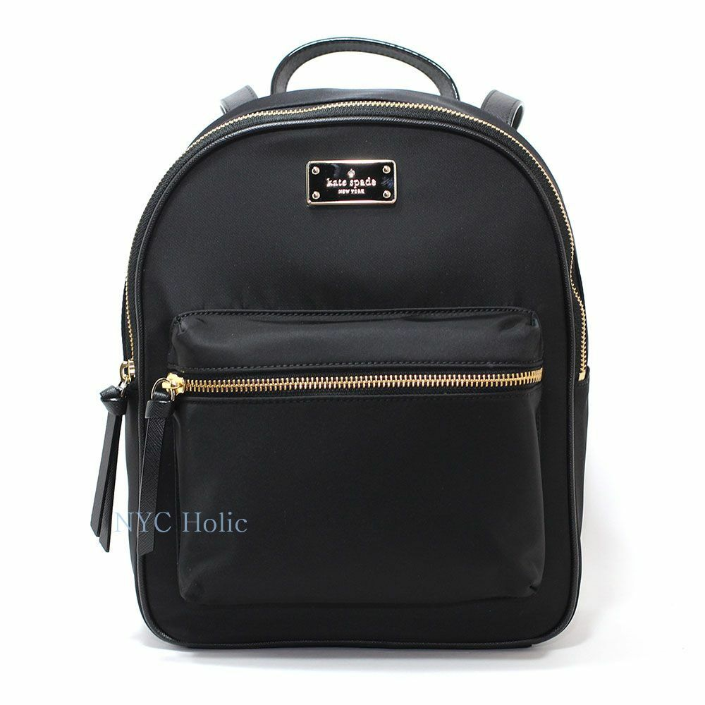 New Kate Spade New York Wilson Road Small Bradley Backpack Black ... cbc8879638274