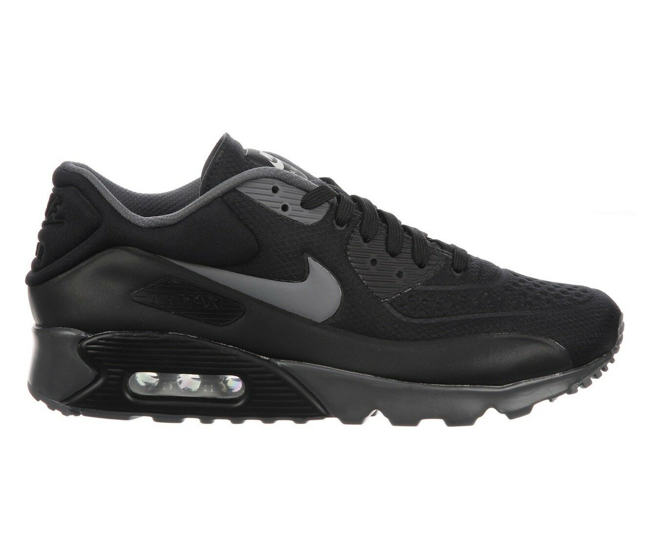 Nike Air Max 90 Ultra SE Mens 845039-003 Black Dark Grey Running Shoes Comfortable Special limited time