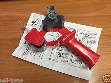 """3M Scotch Tape Gun Dispenser 2"""" SB200 Shipping Packaging Lightweight - No Tape"""