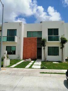 Renta casa Cancún terramagna zona sur .