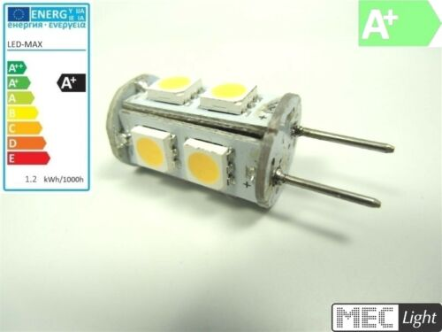 G6 35//gy6,35 LED stylo socle-CYLINDRE 9x 3-puce smds-Blanc chaud