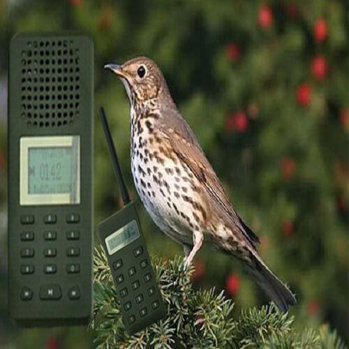 Special Songs Thrush + ULTRASONIC SPEAKER 3 POSITIONS + HUNTING BIRD CALLER