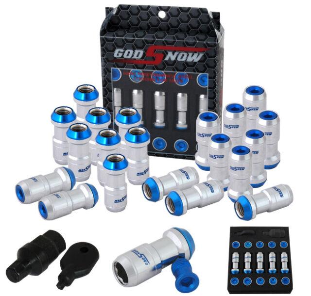 Universal M12X1.5 Thread Lug Nut JDM Racing Wheel Rims 4 PCS Kit Gunmetal