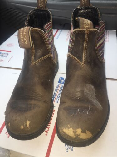 BLUNDSTONE Tasmania Australia leather Brown Boots
