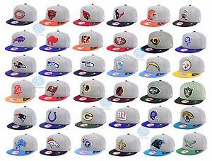New-NFL-New-Era-Heather-2-Tone-9FIFTY-Throwback-Snapback-Cap-Hat