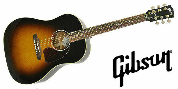 Gibson J 45 Standard Acoustic Guitar For Sale Online Ebay