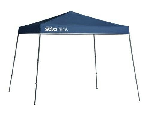 Quik Shade Solo Steel 72 11'x11' Instant Popup Canopy bluee 165710DS