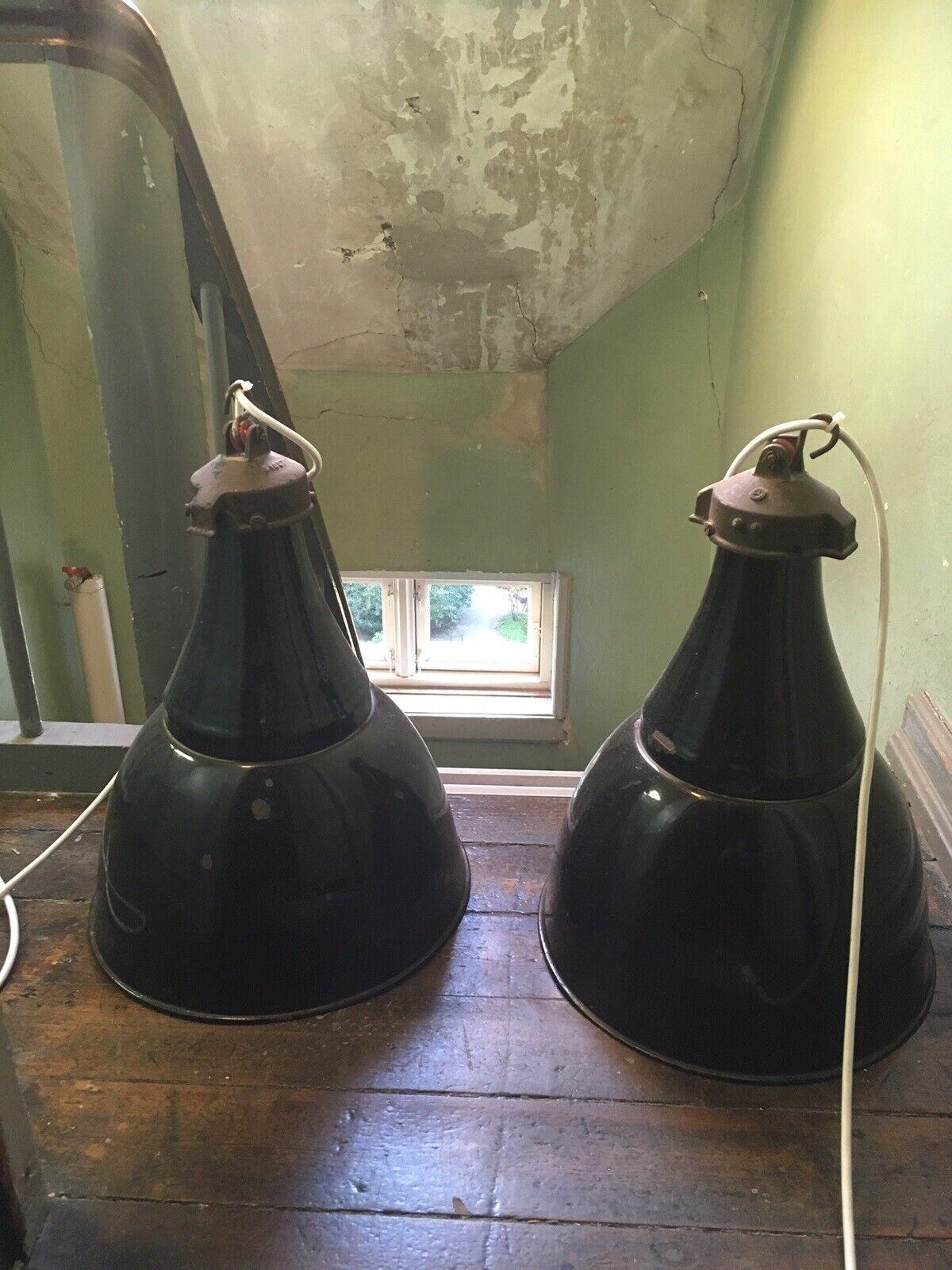 Pendel, Franske industri lamper – dba.dk – Køb og Salg af