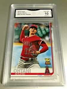SHOHEI-OHTANI-ALL-STAR-ROOKIE-CARD-2019-Topps-600-GMA-Graded-10-Gem-Mint