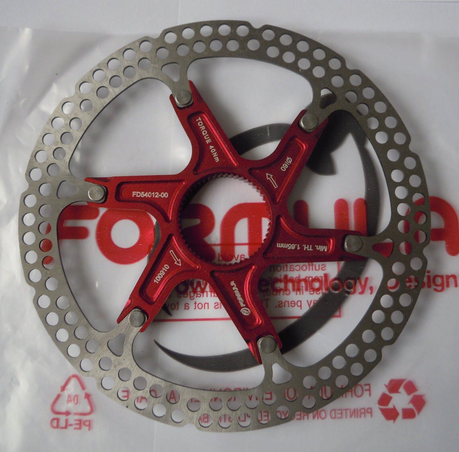 Formula 1 einer Scheibe Modell zwei Teile 2-piece 2-piece 2-piece rot rot CenterLock 160 180mm 9cba54