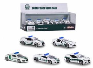 MAJORETTE-Dubai-Polizei-Superautos-Special-Edition-Set-5-teilig-AUDI-LAMBORGHINI