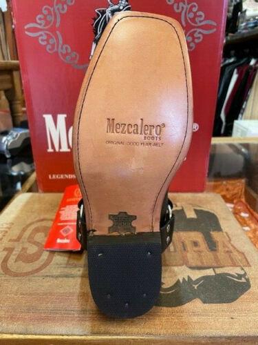 Mezcalero Boots Bikerstiefel Motorradstiefel 0539  Schwarz RESTPOSTEN