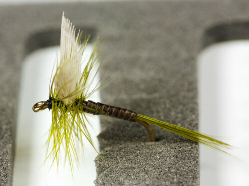 olive dun select 1 other 18 Trout Dry Fly Fishing Flies Blue winged Olive