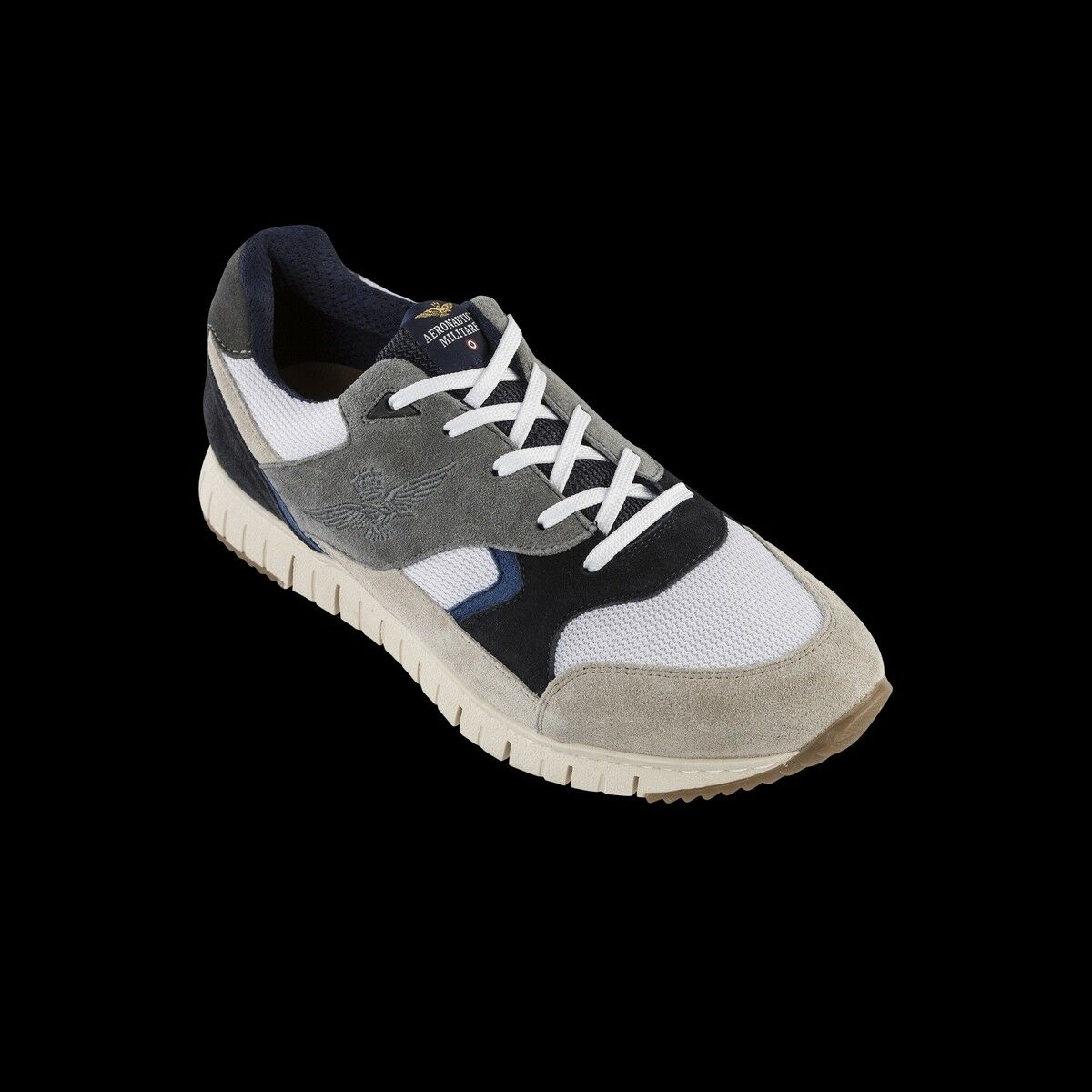 shoes Aeronautica Militare men Running - Bianco grey - CT2257