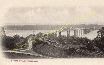 Lydney Severn Bridge Railway Station Photo Severn /& Wye Rly. 3 Sharpness