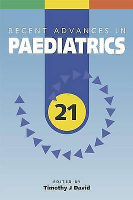 Recent Advances in Paediatrics 21, ,, New Book