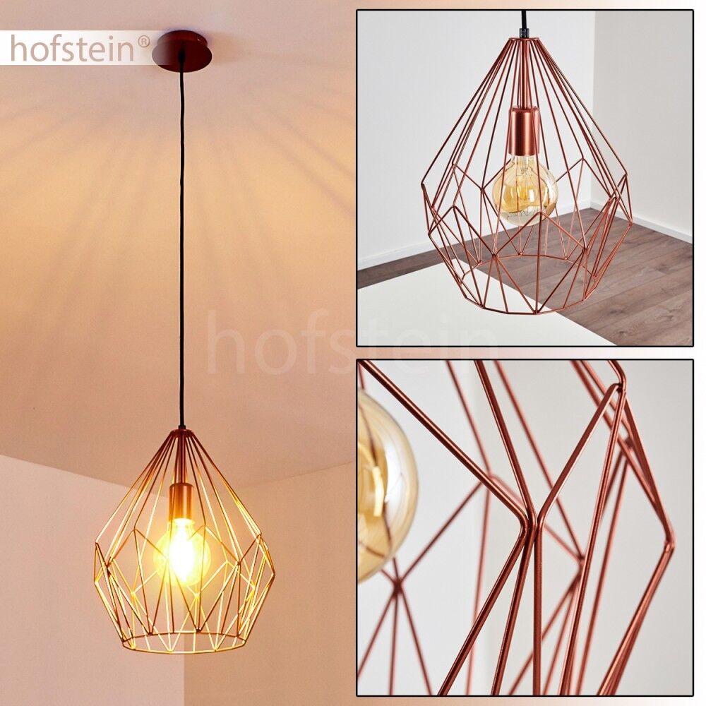 Vintage Design Hänge Leuchten Pendel Lampen Ess Tisch Wohn Schlaf Zimmer Kupfer