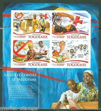 TOGO   2015 RED CROSS BATTLE AGAINST MALARIA --PRINCESS DIANA SHEET IMPERF  NH