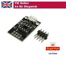 Development Programmer Board for ATtiny13A / ATtiny25 / ATtiny45 / ATtiny85