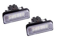 Set LED Kennzeichenbeleuchtung MERCEDES Kennzeichen Nummernschild W203 W211 7203