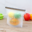 Reusable-Silicone-Food-Storage-Bags-2-Large-2-Medium-Sandwich-Liquid-Snack thumbnail 4