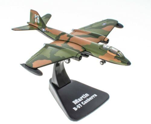 Martin B-57 Canberra 1//144 Atlas Avion Militaire Miniature Aircraft MG19