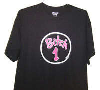 Bitch 1 ( Black T-shirt) Very Cute & Classic Looking