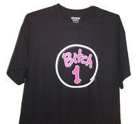 Bitch 1 ( Black T-shirt) Very Cute & Classic Looking