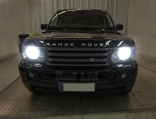 Pair D1S Bulbs Xenon Hid White 5000K Low Beam Range Rover MK3 L322 2007 to 2009