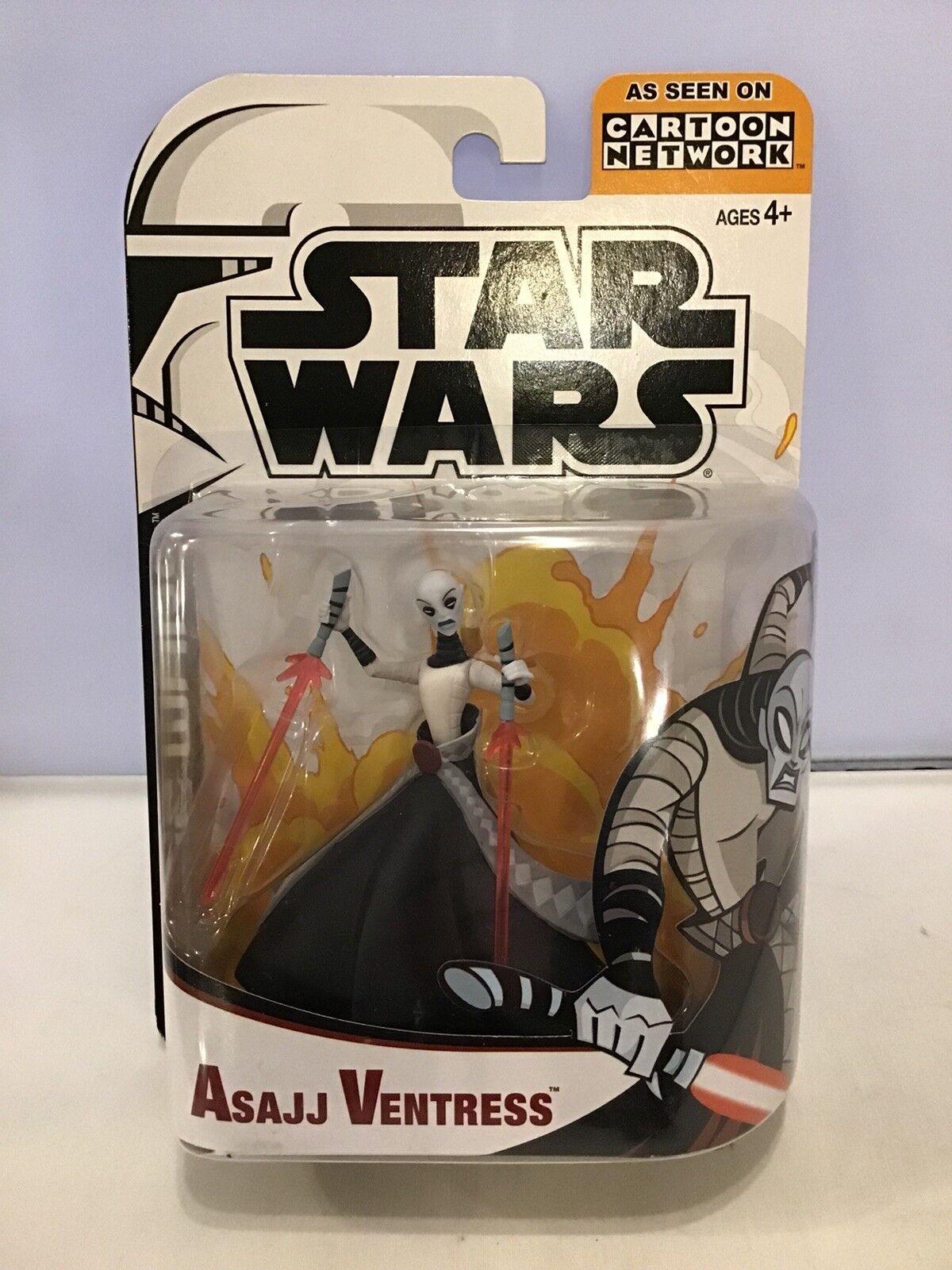 Star Wars Clone Wars - Asajj Ventress.