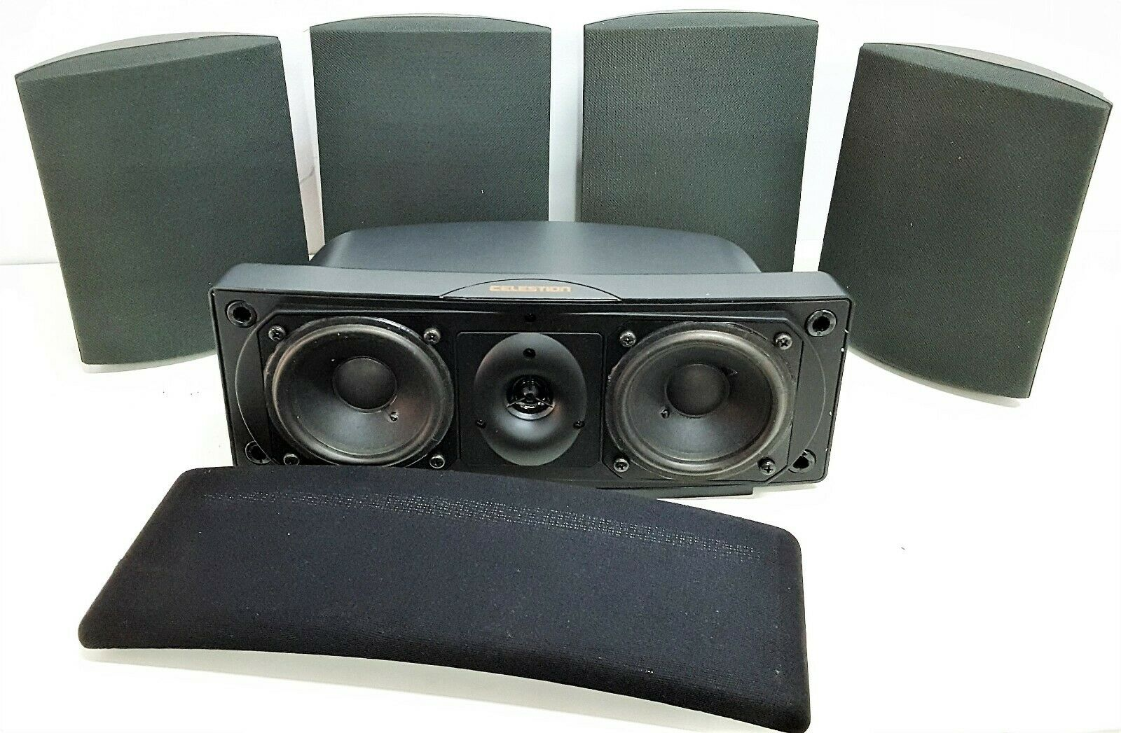 5 Celestion HTiB Effects Home Theater System Surround Sound, Wall or BookShelf