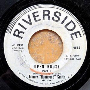 JAZZ-ORGAN-white-label-promo-45-JOHNNY-HAMMOND-SMITH-Open-House-RIVERSIDE-4582