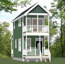 10x28 Tiny House -- 475 sq ft -- PDF Floor Plan -- Model 3A