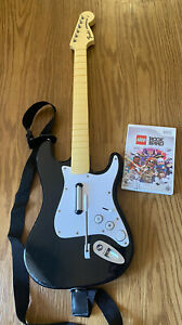 Rock Band Fender Stratocaster Harmonix NWGTS2 Wii Guitar with Strap - No Dongle