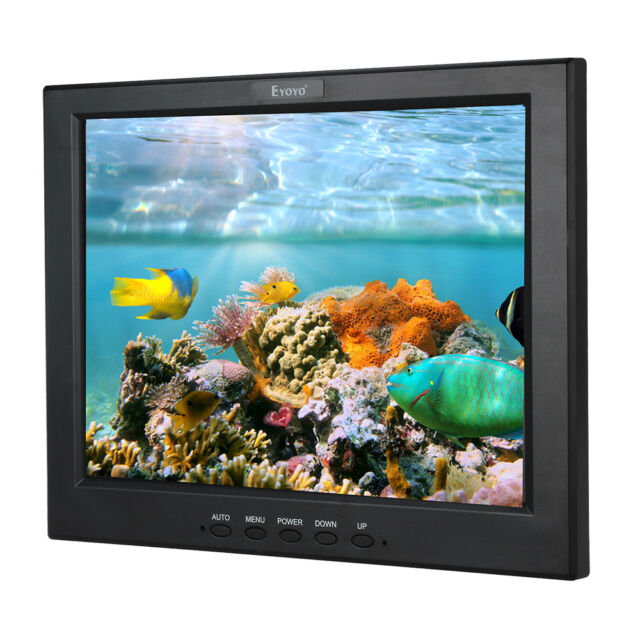 """12"""" TFT LCD Monitor 800*600 4:3 HDMI AV For Game Playing CCTV  Security Camera"""