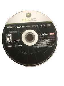 Spider-Man 3 Xbox 360 Game Disc Only 86e Marvel Avengers Kids