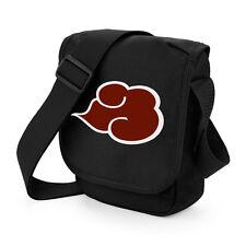 Naruto Akatsuki Cloud Mini Messenger Shoulder Bag Geeky Anime Manga Cosplay