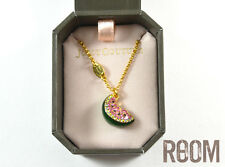 Juicy Couture Pave Watermelon Wish Necklace