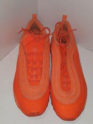 Nike Air Max 97 Hyperfuse Total Orange Mens Size 14 Rare 518160 880 Running 886551280173   eBay