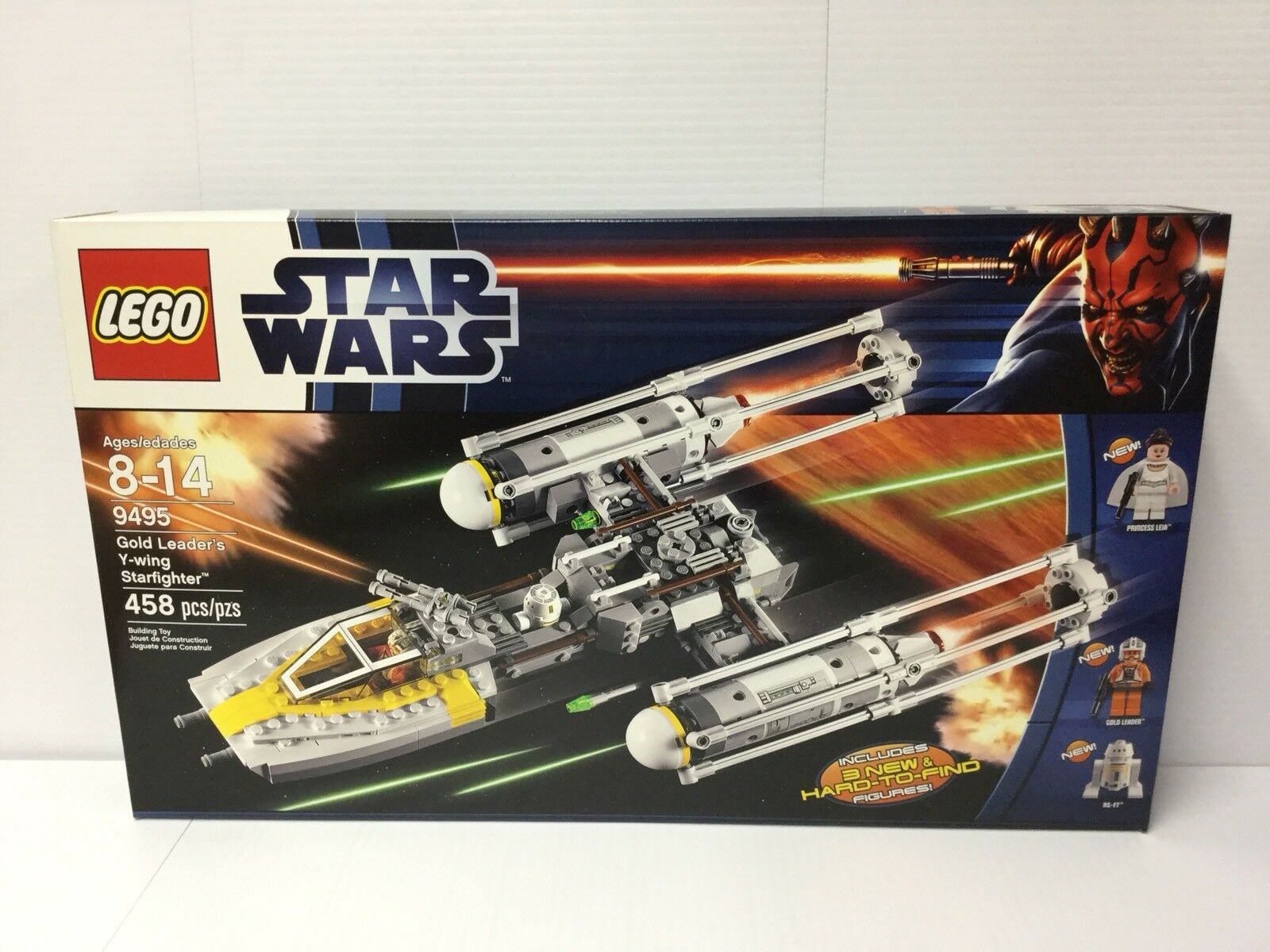 Lego Lego Lego Star Wars 9495 Gold Leader's Y-Wing Starfighter   New & Sealed  6affbe