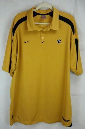 Nike Vanderbilt University Men's (XXL) Gold w/Blac