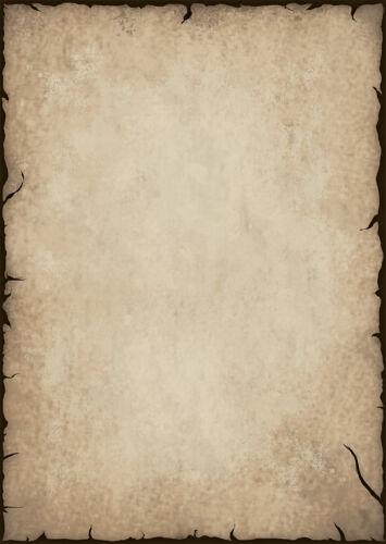 Motivpapier Briefpapier antik altes Papier beidseitig 20 Blatt A4 History alt