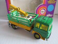 SIKU 349 LKW mit Ladekran und Leitplanken OVP BOX