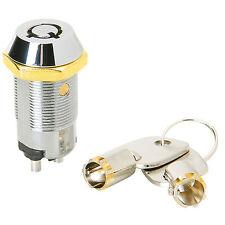 Onoff Key Switch With 2 Barrel Keys