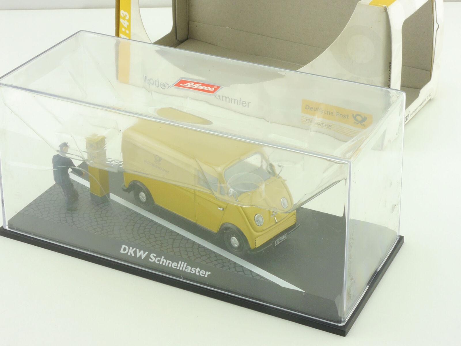 Schuco 010532 DKW Schnelllaster deutsche post diorama diorama diorama 1 43 OVP 1604-05-75  venta al por mayor barato
