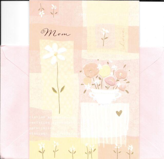 Happy Birthday Mom Love Appreciation Garden Pot Flowers Hallmark