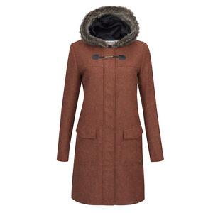 Orange Murphy Jack Duffle Coat Burnt In Tweed Meredith Jacket 8qdSUqPw