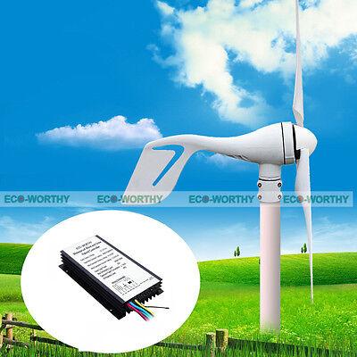 400W Hybrid Wind Turbine Generator w/ Hybrid Controller Wind Power Charging