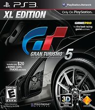 Gran Turismo 5 XL Edition - Sony Playstation 3 - BRAND NEW SEALED